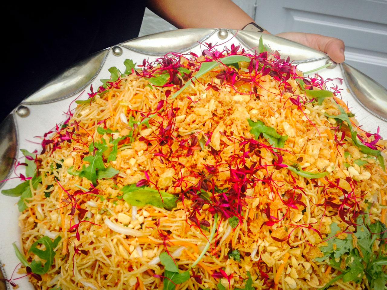 Herby noodle salad