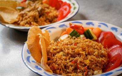 Quick and easy: fried rice