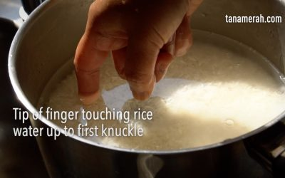 The story of rice. And how to cook it the Indonesian way